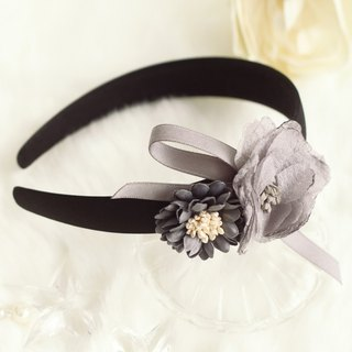 Chiffon Flower Decoration Headband