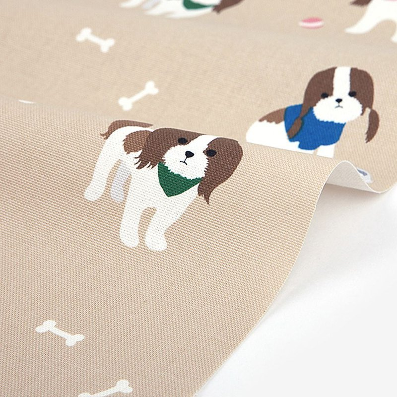 Dailylike design fabric Oxford cloth - Shih Tzu, E2D44516