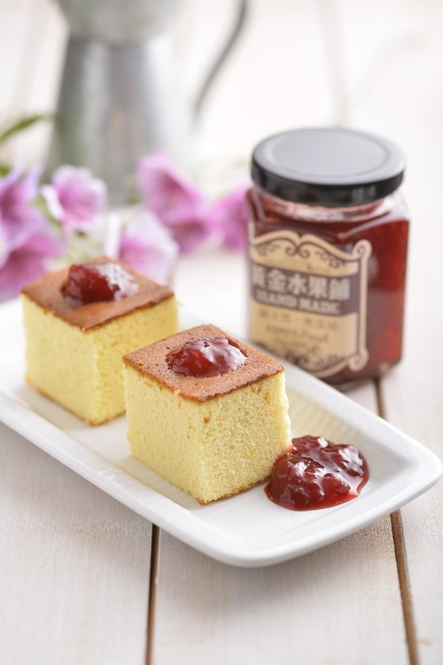 Gold fruit shop handmade jam classic strawberry (wiping sauce)