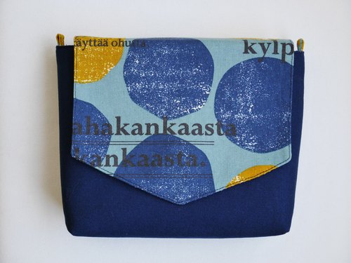 [Dark blue dot chain package]