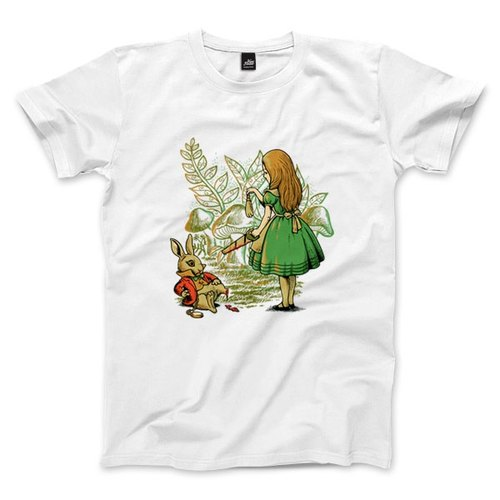 Rabbit's foot - White - Unisex T-Shirt