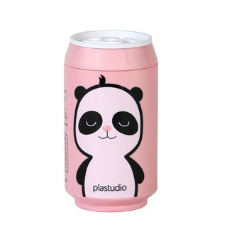 PLAStudio-ECO CAN-280mll-Panda Series-Made from Plant-Pink