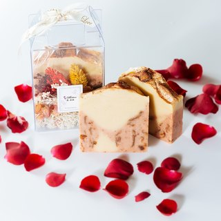 Limited edition! [Rose cake milk milk soap] story of soap | fragrance hand soap