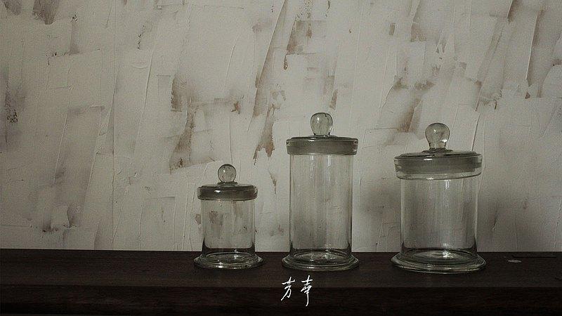 中藥材展示玻璃罐