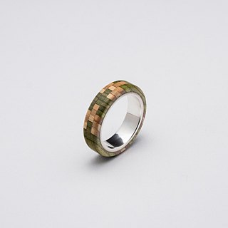 Send wood style ring R0409001