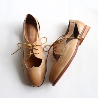【bite a cookie】Openwork shoes-brown