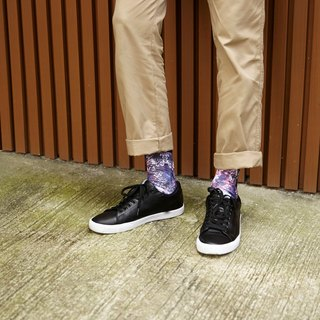 Hong Kong Design | Fool's Day stamp socks -Spray Drip 00048