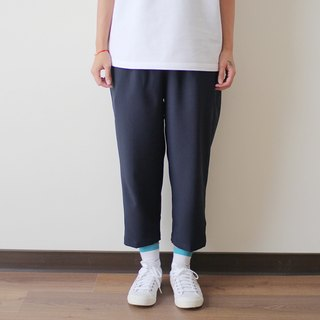 Zhang Qing Drawstring Eighth Pants