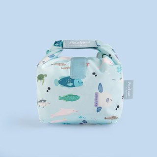 Good day | Pockeat green food bag (small food bag) - I am not seafood