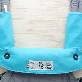 Ergo 360 / Adapt / Omni BIB, Drool Pads, 嬰兒背帶口水巾, Solid Teal, Cats, Double Gauze