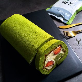 Hill Park Matcha Strawberry Milk Roll