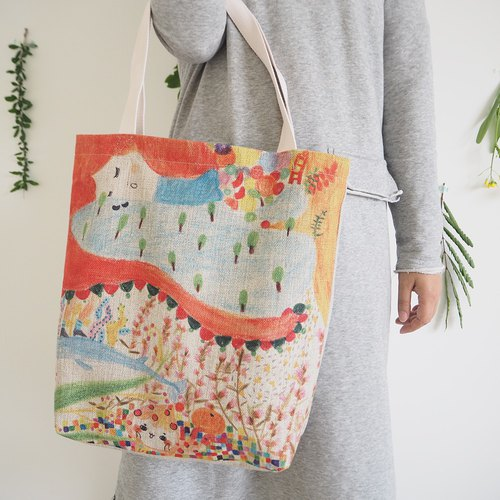 Color System Bag My Little Dream Shopping Bag Tote Bag