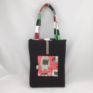 Duplex / personality monster*handsome box / hand*Shoulder Bag