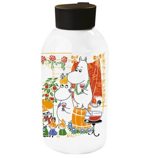 Moomin Moomin authorized - large capacity stainless steel thermos (white)