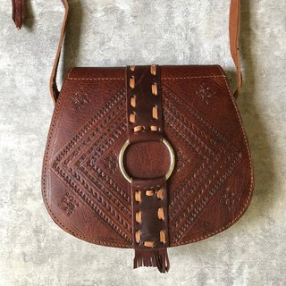 Goody Bag Desert Gate Marrakech Red Brown Limited