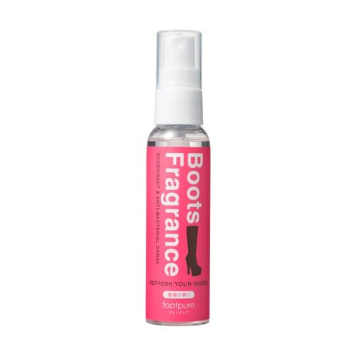 【FOOTPURE-shoes deodorant antibacterial protection】 fragrant boots secret mind spray / 60ml-rose fragrance