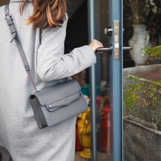 Sven (Gray) cross-body bag
