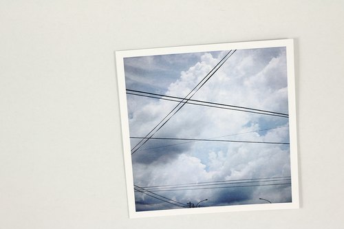 Skies series - square postcard | CATCH ZEN