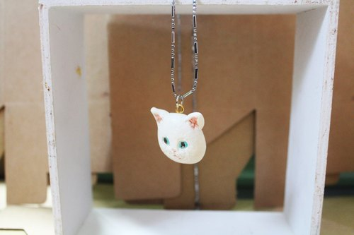 [Moses's warehouse] unique cat custom necklace