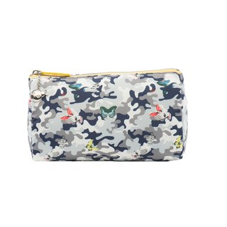 Mesheen Mishin personality camouflage printed clutch