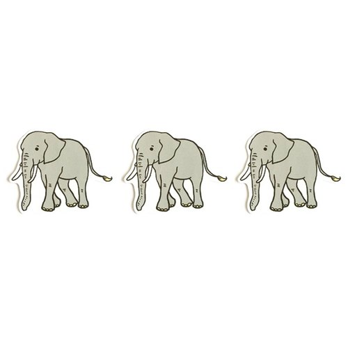 1212 design fun funny stickers waterproof stickers everywhere - Mr. African elephant