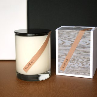 Woody fragrance │ forest fog Yu Cui pure plant soy wax oil candle