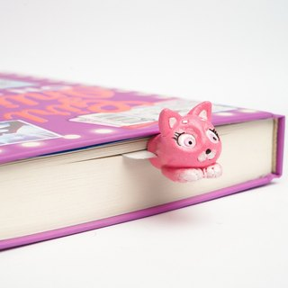 Kitty-Cutie bookmark from authentic MYBOOKMARK