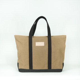 Boat bag - brown/black