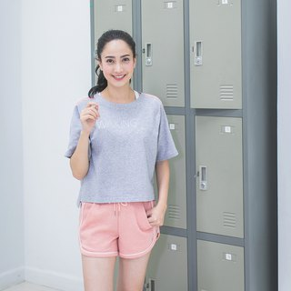 Boxy Top - Gray