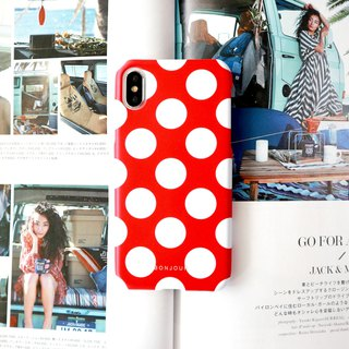 Red dot phone case