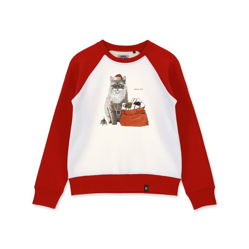 AMO Original cotton adult Sweater /AKE/Santa Cat