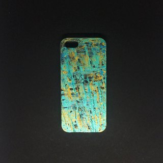Acrylic Hand Paint Phone Case | iPhone 5s/SE |  Scatch