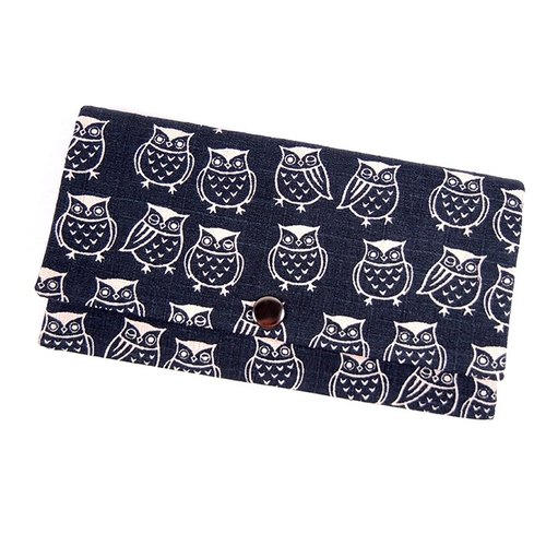 Passbook red envelopes of cash Pouch - Small owl
