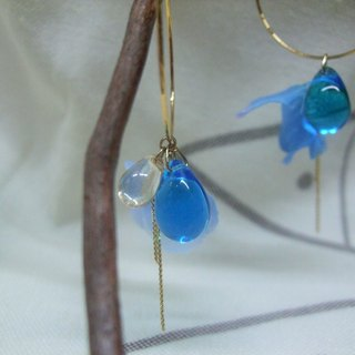 Earrings - Glass - Flower