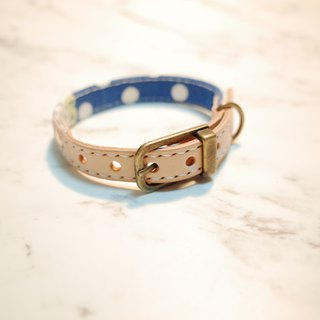 Exclusion part, Dog / Cat Collars. S size, cute dots