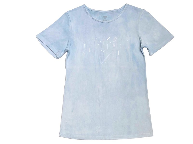 Night Sky Organic Cotton Short Sleeve T (Blue Dye) Organic Cotton