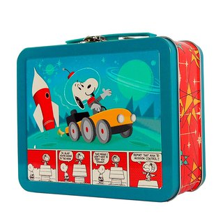 Snoopy Lunch Box - Outer Space (Hallmark-Peanuts Snoopy Storage/Others)
