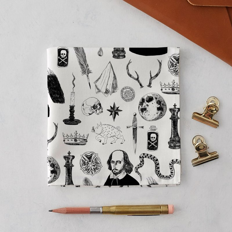 SHAKESPEARE SYMBOLS HANDKERCHIEF & POCKET SQUARE