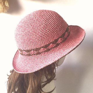 Lonely is the essence of human hand weaving shade 㡌 / paper pull Philippine straw hat / straw hat / hand cap〗 〖jump house crazy hand for