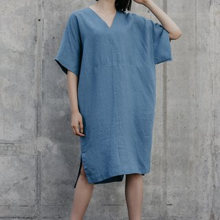 Linen Dress Motumo – 18S1