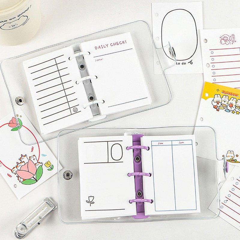 Hisome嗨森部屋活頁本內頁小尺寸便攜適配各種迷你本16款可選40張