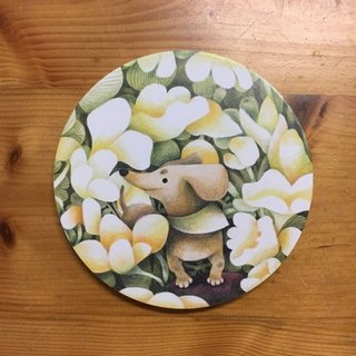 CHUMIOX 趓趓: Illustrator Series Coaster (The Dog)