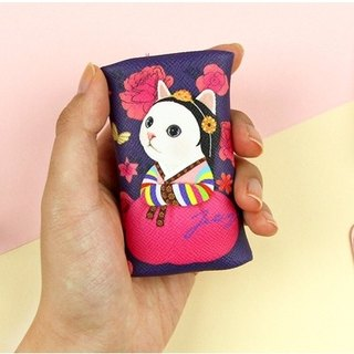 JETOY, Sweet Cat Coin Purse Keyring _Wori J1707706