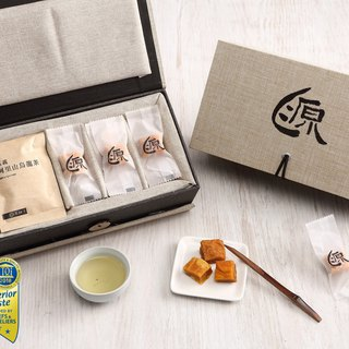 Food Michelin 3 stars - [source of home dried mango] exquisite gold layer gift box