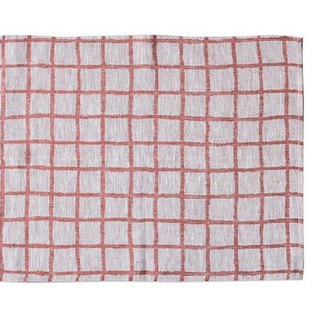 Nordic style designer – checkered table mat (red) Rutig Place Mat, Red