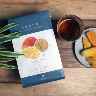 【Fruit & Tea】Dried Mango + Alishan Black Tea