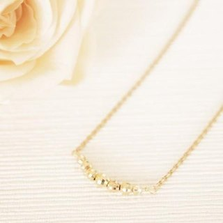 K10 Crescent Moon Necklace