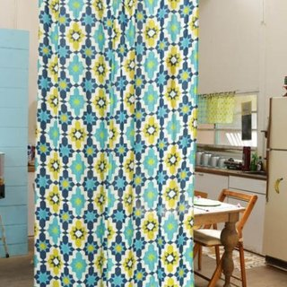 Pre-order full version of geometric curtains (six models) ISAP7363