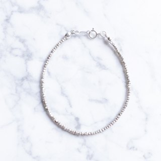 :: Silver Ore Series - Classic Style :: Basic oval section silver sterling silver bracelet