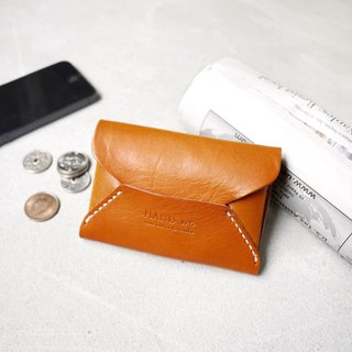 Envelope double leather business card holder / purse Made by HANDIIN